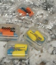 4 Pair Safety Ear Plugs Earplugs New In Cases Corded