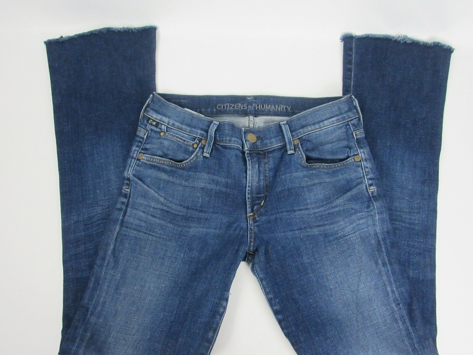Citizens of Humanity Women's Jeans bluee Raw Hem Bootcut Size 28