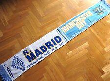 BUFANDA SCARF REAL MADRID - MANCHESTER CITY CHAMPIONS LEAGUE 12-13 SCHAL ECHARPE