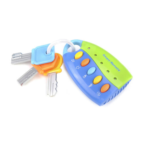 New Baby Toy Musical Car Key Toy Smart Remote Car Voices Pretend Play Education