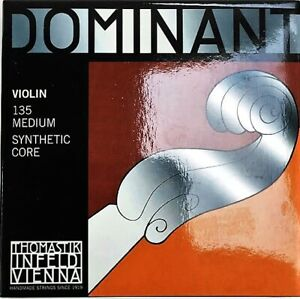Dominant-135-Medium-Synthetic-Core-Violin-Strings-4-4-Size