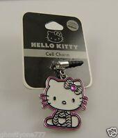 Hello Kitty Bling Cell Phone Plug Or For Ipad Charm Ear Cap Dust Plug Sanrio