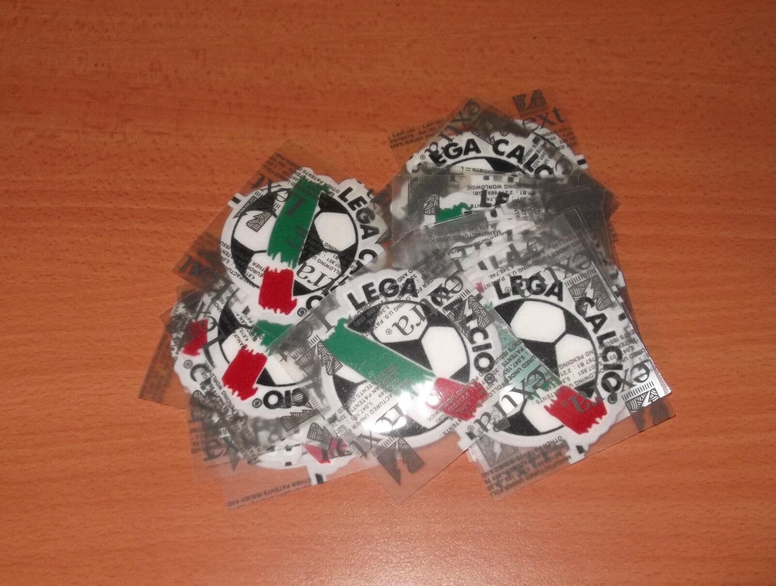 10 TOPPA PATCH PATCH'S LEGA CALCIO ORIGINALE LEXTRA 0304 SERIE A B