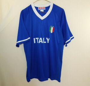Italy-Italia-National-Soccer-Football-Team-Jersey-Shirt-Size-EXTRA-LARGE-XL