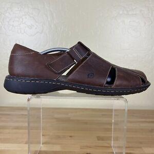 Born Fisherman Sandals Mens Size 12