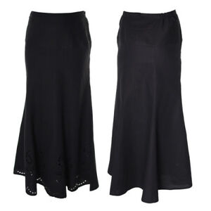 Ladies new Black Midi Skirt size 10 12 14 16 18 20