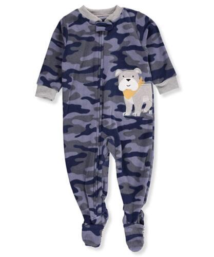 Carter/'s Boys Fleece Footed Blanket Sleeper  Camo or Rocket  18M  24M  2T or  4T
