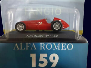 FANGIO-COLLECTION-ALFA-ROMEO-159-1951-Diecast-1-43-La-Nacion-ARGENTINA