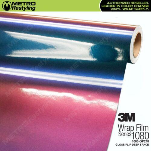 3M 1080 Series GLOSS FLIP DEEP SPACE Vinyl Vehicle Car Wrap Film Roll GP278