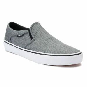 50% off shop super quality NIB Men's Vans Asher Skate Shoes Choose Size Textile Black White ...