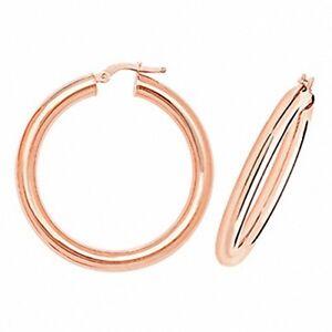 Hoop-Earrings-Rose-Gold-Round-Hoops-Gold-Hoop-Earrings-30mm