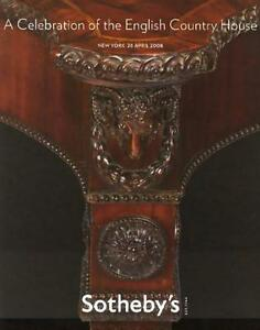 Sotheby S English Country House Antique Sale Auction Catalog 2008 Ebay