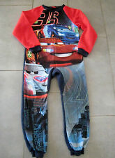 Pyjama Polaire  Disney/Pixar CARS FLASH MAC QUEEN  ( 10 ans) fermeture éclair