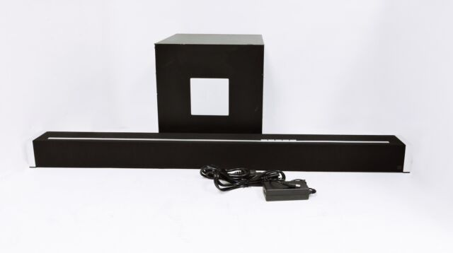 BRAND NEW Definitive Technology W Studio Wireless Black Sound Bar /& Subwoofer