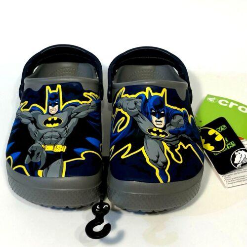Crocs Batman clogs toddler SIZE 4 6 NEW 5