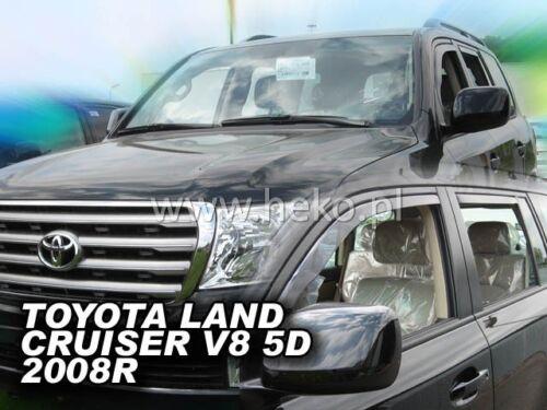 HEKO 29602 saute vent 4 Pcs Toyota Land Cruiser j200 v8 5 türig année de construction à partir de 2008