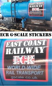 4-ECR-SIGNAGE-STICKERS-FOR-ROLLING-STOCK-G-SCALE-45mm-GAUGE-CARGO-RAILWAY-TRAIN