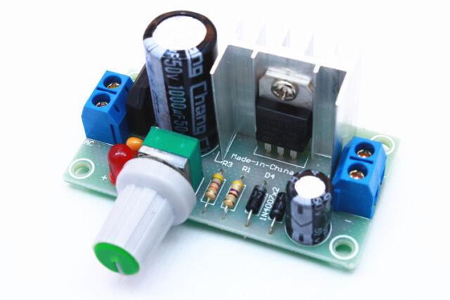 Buck rectifier filter circuit LM317 adjustable voltage regulator 1.5-32V