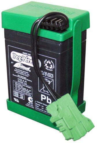 tempo maggiore di utilizzo del giocattolo Peg Perego Batteria da 6V 4.5 Ah