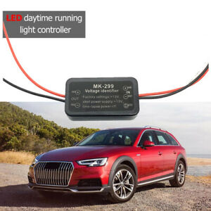 Car-LED-Daytime-Running-Light-Automatic-ON-OFF-Controller-Module-DRL-RelayCKTP