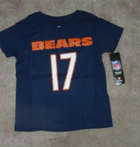 on sale 1dee9 741a6 Details about NEW NFL Alshon Jeffrey Chicago Bears Jersey T Shirt 4T / 4  Kids NEW NWT