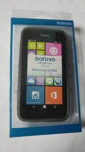 Sonivo-Nokia-Lumia-530-Soft-Gel-Case-Black