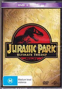 Sam-Neill-Jurassic-Park-Ultimate-Trilogy-New-Sealed-Genuine-R4-Free-Post