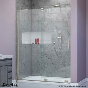 Details About Dreamline 44 48 X 72 Mirage 3 8 Gl Frameless Sliding Shower Door Left
