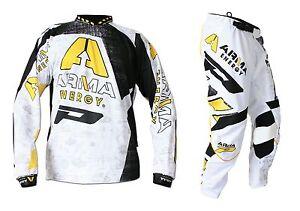 Progrip-MX-Motocross-Enduro-Kit-Arma-Energy-White-36-034-Waist-XXL-Shirt