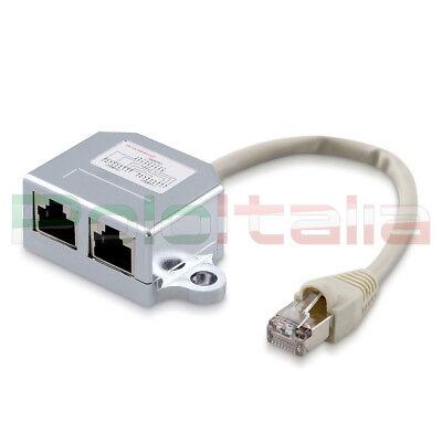 2x impresa USB 2.0 un maschio a Micro USB B DONNA M//F Adattatore Convertitore Video Connettore S