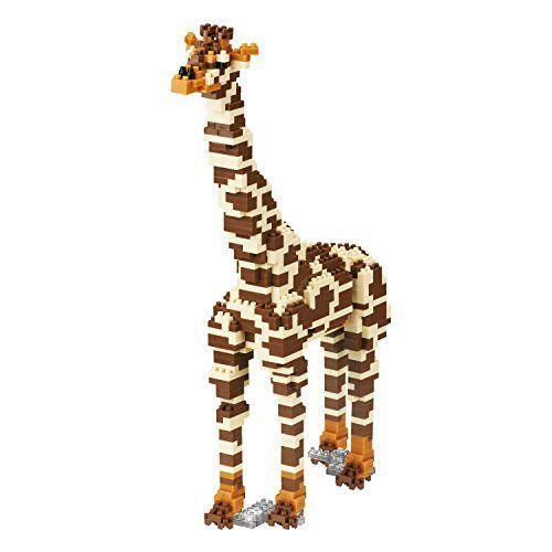 Figure Nano-block animal DX giraffe NBM-022 SB