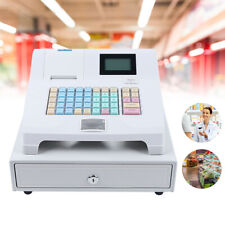 Electronic Cash Register Pos With 48 Keys 8 Digital Led Display Supermarket Retail