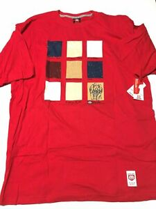 ECKO-UNLTD-S-S-034-Rhino-Hide-034-Tee-XL-XLarge-sz-Men-039-s-Graphic-T-Shirt-Red-NEW-NWT