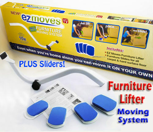 Furniture Lifter Moves With EZ Mover Sliders Kit Home Moving Lifting System  Sf1   eBay. Furniture Lifter Moves With EZ Mover Sliders Kit Home Moving