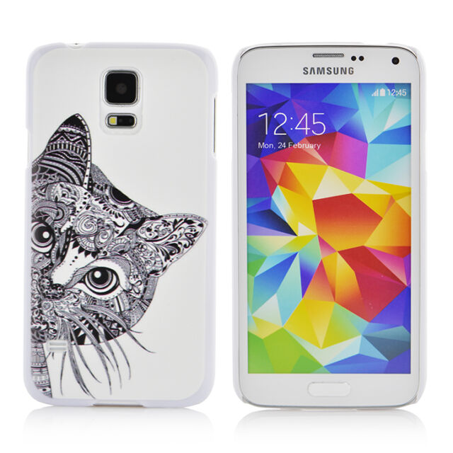 Animals ultrathin hard Protective Phone Case Cover for Samsung Galaxy S5 i9600