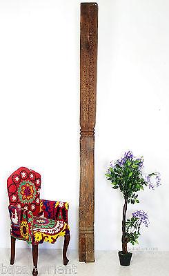antik Massiv Holz Säule aus afghanistan Pakistan wooden Pillar column rarität  C