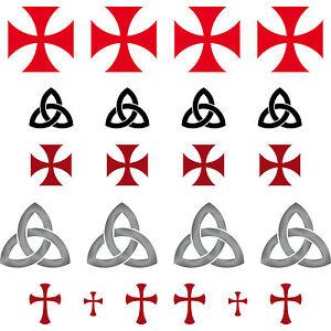 gothic kelten templer maurer runen symbole zeichen aufkleber tattoo deko folie ebay. Black Bedroom Furniture Sets. Home Design Ideas