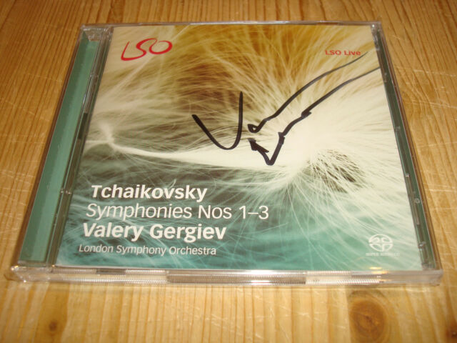 VALERY GERGIEV Tchaikovsky Symphonies Nos. 1-3 LSO LIVE 2x SACD Signed Signiert