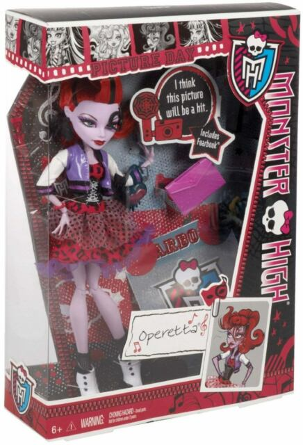 mattel monster high picture day operetta doll n2851 ebay