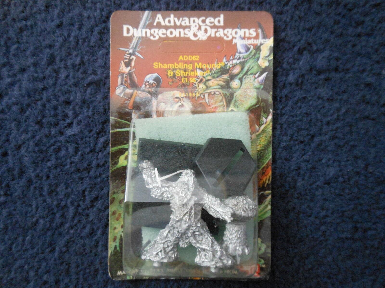 1985 ADD62 Shambling Mound & Shrieker A Advanced Dungeons & Dragons Citadel MIB