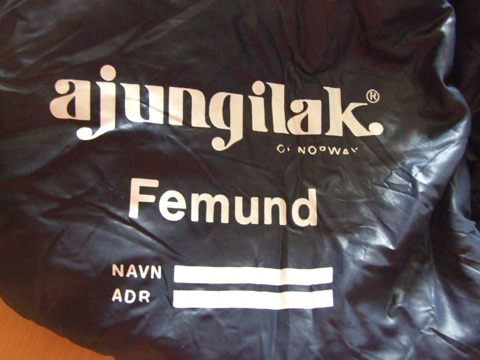 Ajungilak of Norway Femund saco de dormir 195 cm de estatura sleeping bag camping
