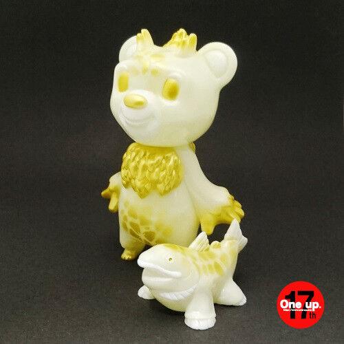 Bearon Bearon Bearon & Shakenodon soft vinyl figure One up 17th Exclusive Uky Daydreamer Japan 4a0b01