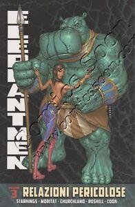 ELEPHANTMEN-RELAZIONI-PERICOLOSE-VOLUME-3-Panini-Comics-NUOVO
