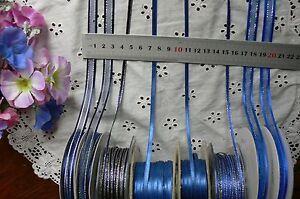 Satin-amp-Metallic-NAVY-amp-ROYAL-BLUE-Ribbons-3-6-7-amp-10mmWide-3-5-amp-10Mtr-MultiList-BW