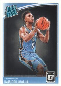 2018-19 Donruss Optic Basketball #171 Hamidou Diallo RR RC Oklahoma City Thunder