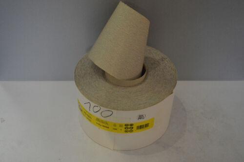 Wahl Rolle Schleifpapier 115 mm x 50 m PS33 Klingspor Lackschliff Körnung n