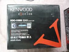 Kenwood Excelon KDC-X889 CD Player In Dash Receiver