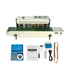 Fr 900 Continuous Band Sealer Automatic Horizontal Band Sealer 110v