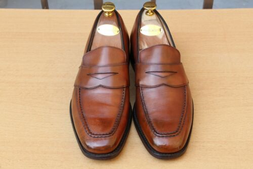da uomo 60 40 nertford Condition Excellent Mocassin Church's Leather F Scarpe Chaussure vwgzqtn