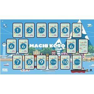 Machi-Koro-Deluxe-Playmat-IDW-Games-IDW00804-Play-Mat